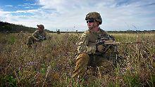 Kampftruppen will Australien zunächst nicht entsenden.