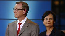 SPD auf AfD-Niveau: In Thüringen reicht es für Rot-Rot-Grün