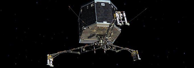 """""""Rosetta"""" hat einen langen Flug hinter sich."""