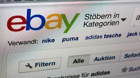Viele Ebayer konnten sich gestern nicht einloggen.