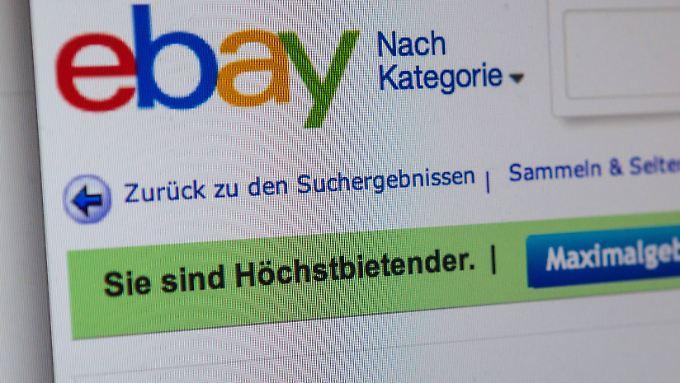Systemausfall bei Ebay: Viele Waren unter erhofftem Wert versteigert