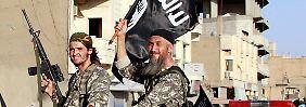 Die Flagge des Terrors weht: Die Dynamik des IS wirkt auf junge Radikale anziehend.