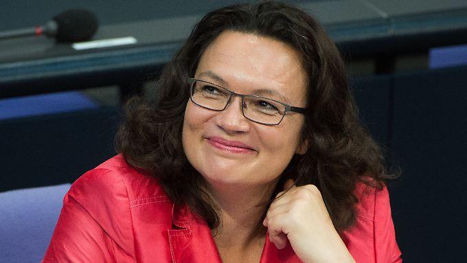 Kritik aus der Union: Nahles will Hartz-IV-Sanktionen entschärfen