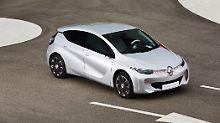 Der Eotab sieht dem Renault Clio verdammt ähnlich, soll aber nur 1,0 Liter auf 100 Kilometer verbrauchen.
