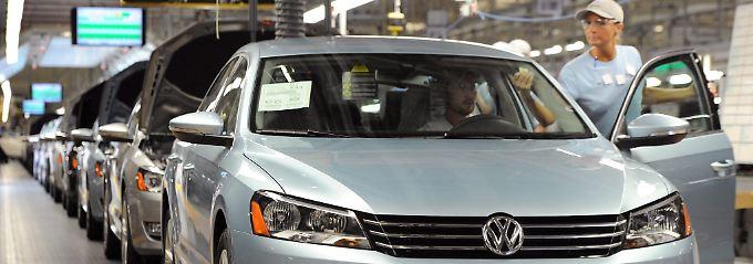 Volkswagen für Highways und Interstates: VW-Produktion am Standort Chattanooga, Tennessee.