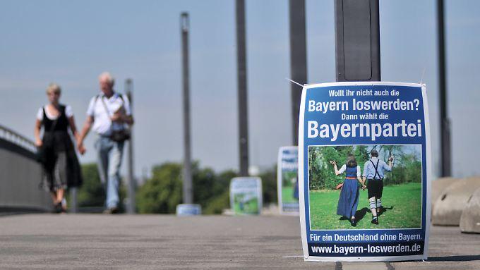 Bei Europa- und Bundestagswahlen wirbt die Bayernwahl auch außerhalb des Freistaats um Stimmen.