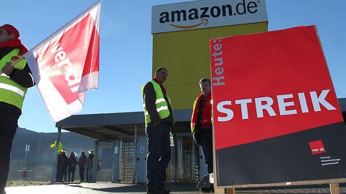 Am Standorten in Graben bei Augsburg, hier ein Archivbild,  lief der Streik zur Frühschicht ab etwa 5 Uhr an.