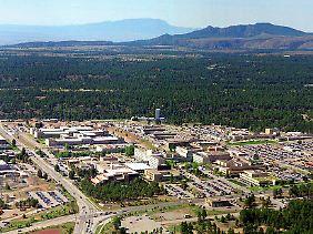 Im National Laboratory im US-Bundesstaat New Mexico wurde die erste Atombombe der Welt entwickelt.