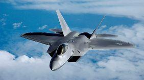 Die F-22 Raptor war bislang das Sorgenkind der US Air Force.