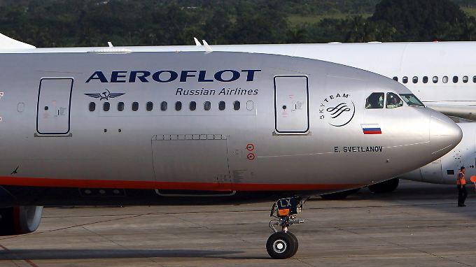 Bei Aeroflot dürfen nun auch ausländische Piloten an die Steuerknüppel.
