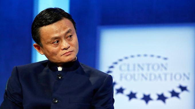 Reichster Chinese - und es wäre für Alibaba-Chef Jack Ma noch mehr drin gewesen.