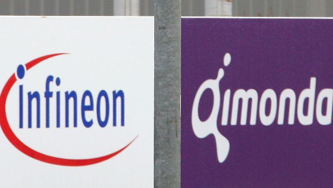 Bei Infineon und Qimonda geht es um mehr als drei Milliarden Euro.