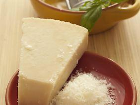 Konnten im Test überzeugen - Parmesan und Grana Padano.
