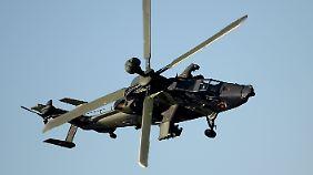 Gravierende Mängel bei der Truppe: Kampfhubschrauber verliert bei Übungsflug Waffenträger