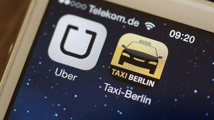 In Berlin und Hamburg sollen sich nun auch Taxifahrer bei Uber registrieren lassen können.
