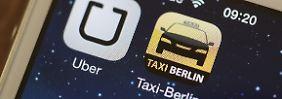 Neues Konzept für Großstädte: Uber geht auf Taxifahrer zu