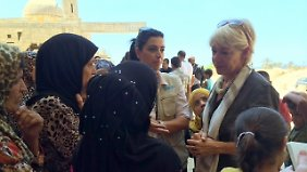 Elisabeth Rasmusson im libanesischen Sidon.