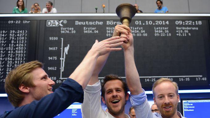 Großes Spektakel zum Börsengang: Zalando-Aktie zündet nur kurz