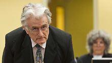 Die Verteidigung von Karadzic hatte zwei Tage Zeit, um sein Schlussplädoyer zu halten.