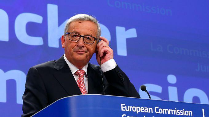 Jean-Claude Juncker bietet mit seinem Team einiges an Angriffsfläche für die Parlament.