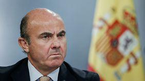 Spaniens Wirtschaftsminister Luis de Guindos