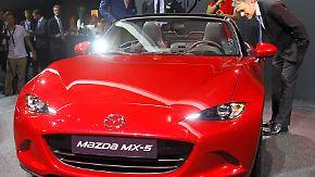 Roadster-Ikone seit 25 Jahren: Mazda interpretiert den MX-5 neu