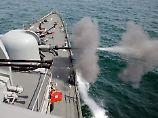 Auf Militärboot aus dem Norden: Südkorea feuert Warnschüsse ab