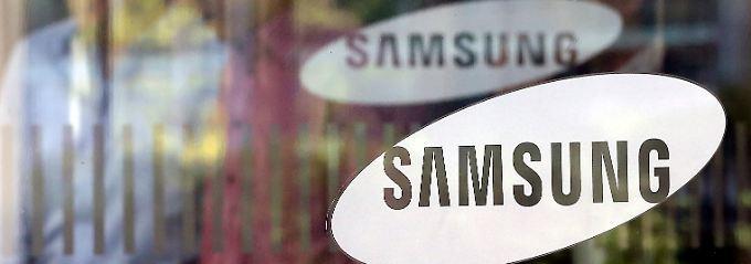 Im Geschäft mit Speicherchips geht es bei Samsung aufwärts.