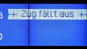 Regios und S-Bahnen betroffen: Lokführer wollen ab dem Abend streiken