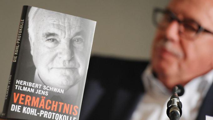 """Der Journalist Heribert Schwan und sein """"Vermächtnis""""."""