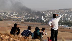 Explosionen im Stadtzentrum: IS kontrolliert große Teile von Kobane