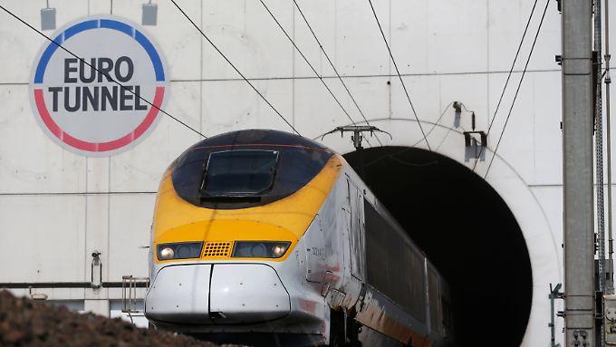 Eine Flucht durch den Eurotunnel ist lebensgefährlich.