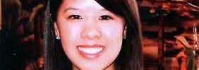 Das Foto der 26-jährigen Nina Pham wurde von ihrer Familie freigegeben. Nach Aussagen der Ärzte besteht eine hohe Wahrscheinlichkeit, dass die Krankenschwester wieder gesund wird.