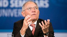 Person der Woche: Schäuble, der eiserne Sparer