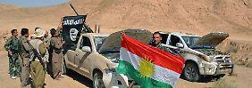 Hilfe für die Kurden am Boden: USA fliegen Waffen direkt nach Kobane