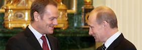 Laut Sikorski: Putin schlug Polen Ukraine-Aufteilung vor