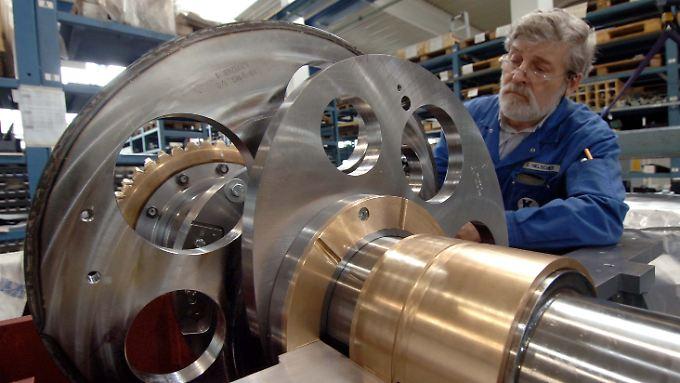 Erstmals seit 1993 arbeiten wieder mehr als eine Million Menschen in der Maschinenbau-Branche.