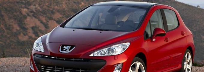 Gebrauchtwagen mit ein paar Macken: Peugeot 308 punktet mit dem Preis