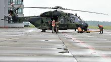 Nach Havarie in Usbekistan: Bundeswehr überprüft alle NH90