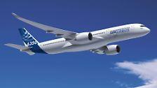 Tonnenschweres Leichtgewicht: Airbus jagt den Dreamliner