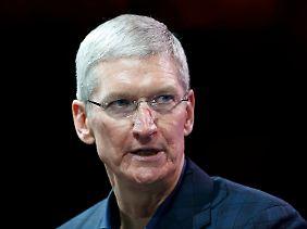 Tim Cook, bei Apple ohne Axt unterwegs.