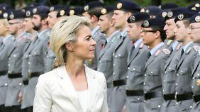 Nachwuchssorge bei der Bundeswehr: Von der Leyen startet Attraktivitätsoffensive