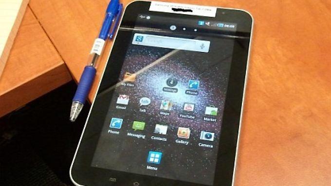 Das israelische iAndroid hat die neuesten Fotos des Galaxy Tab veröffentlicht.