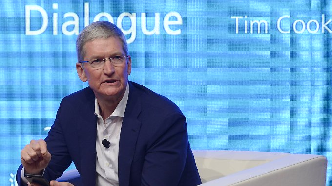 Tabubruch in der Chefetage: Apple-Chef Cook outet sich als schwul