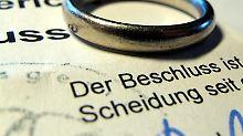 Außergewöhnliche Belastung?: Scheidungskosten nicht absetzbar