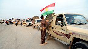 IS kurz vor Bagdad: Kurdische Kämpfer treffen in Kobane ein