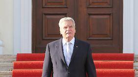 Wirbel um Staatsoberhaupt: Gaucks Kritik an der Linken trifft auf gemischte Reaktionen