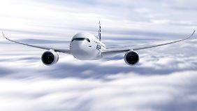 Konkurrenz für Boeings Dreamliner: Airbus startet A350-Produktion