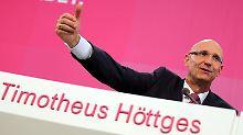 Tim Höttges ist in wenigen Wochen ein Jahr im Amt. Foto: Oliver Berg