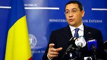 Entscheidung über Präsidentschaft: Rumänen gehen in die Stichwahl